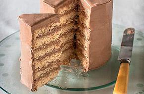 Cómo hacer una tarta de varias capas (layer cake)