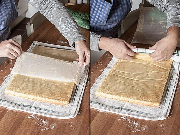 Como hacer una plancha de bizcocho para enrollar