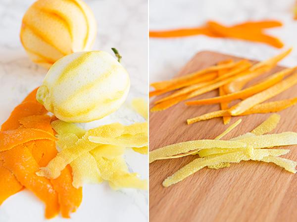 Cómo confitar fruta