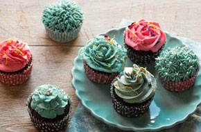 Cómo hacer formas diferentes para decorar cupcakes