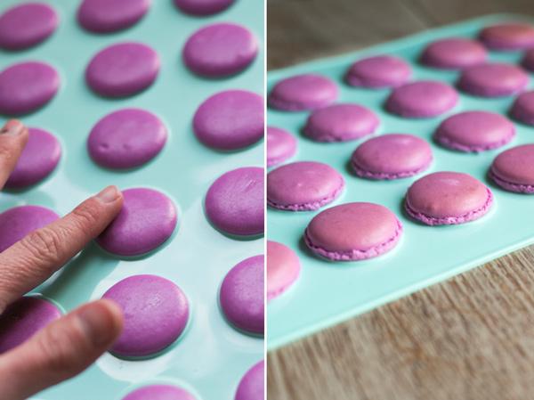 secado macarons