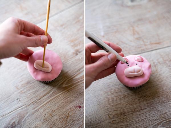 cupcakes muñecos fondant