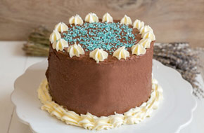 Layer cake de chocolate y buttermilk