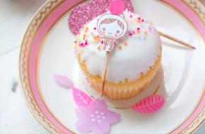 Cómo hacer toppers para decorar cupcakes