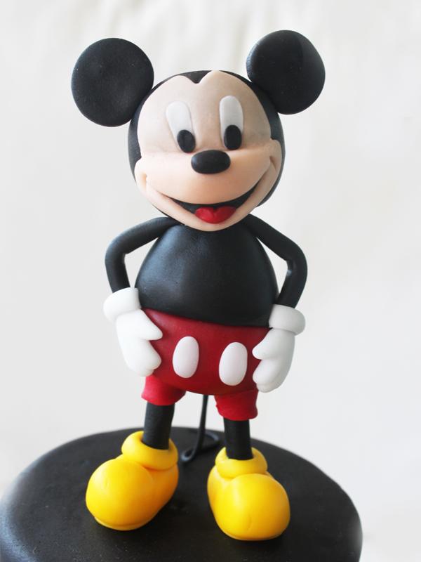 C 243 Mo Modelar A Mickey Mouse Paso A Paso Con Fondant Y