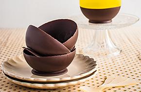Cómo hacer boles de chocolate