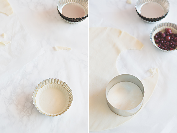 Cómo hacer un enrejado para tartas