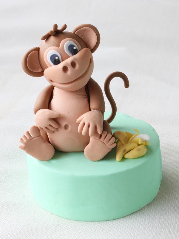 Cómo Modelar Un Mono Con Fondant Y Pasta De Goma Blog De Recetas De Repostería María Lunarillos