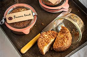 Cómo hacer un bizcocho en un tarro