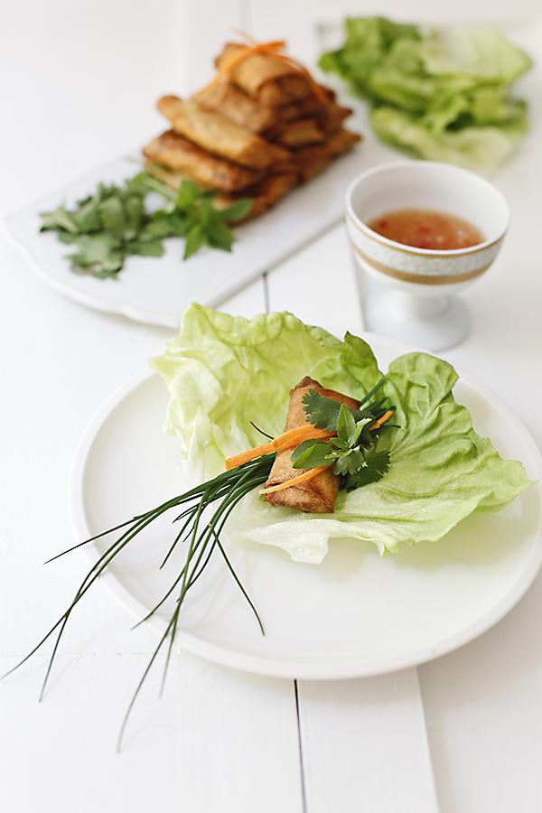 cha gio rollitos vietnamitas de primavera