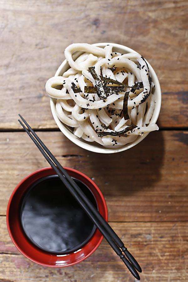 cómo hacer pasta udon