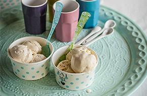Bases para helados: clásica y sin huevo