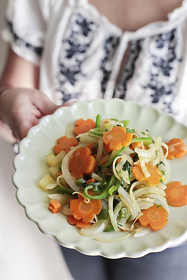 Cortes Basicos De Verduras En La Cocina Y Receta De Salteado De Hortalizas Blog De Recetas De Reposteria Maria Lunarillos Derretir la mantequilla en una sartén con lados altos, y luego. cortes basicos de verduras en la cocina