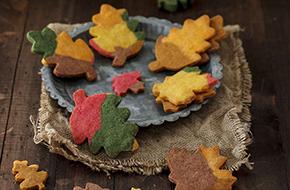 Receta de galletas otoñales