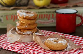 Receta de buñuelos de manzana paso a paso