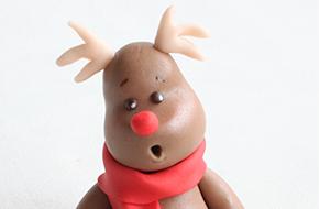 Modelado paso a paso de un reno para Navidad