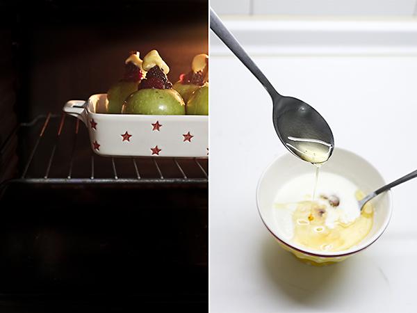 horneamos las manzanas