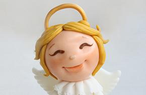 Cómo modelar un angelito paso a paso para Navidad