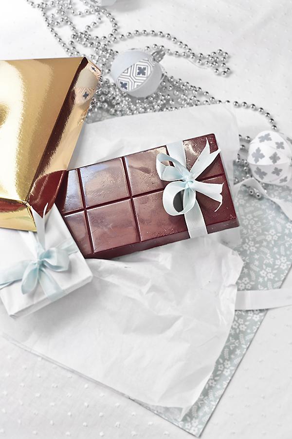 turron de chocolate relleno de toffee crocante
