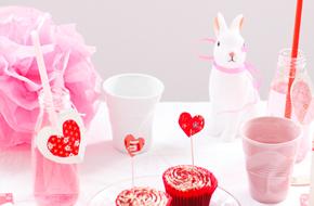 Cómo decorar una mesa para San Valentin
