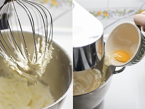 batimos la mantequilla y la azúcar