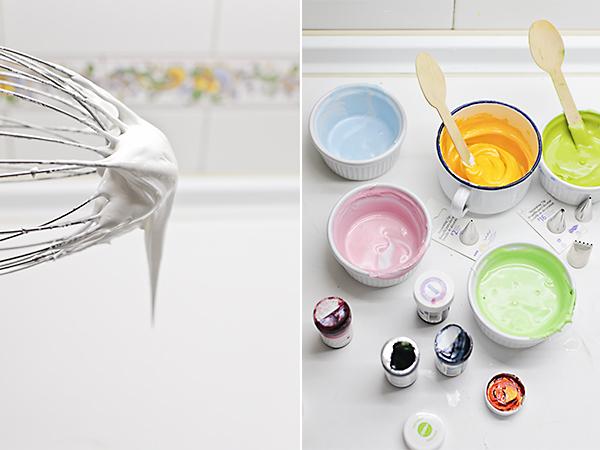 hacemos glasa de colores