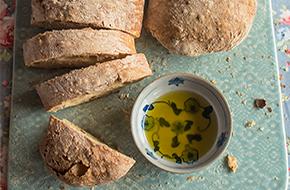 Receta de chapata, pan italiano