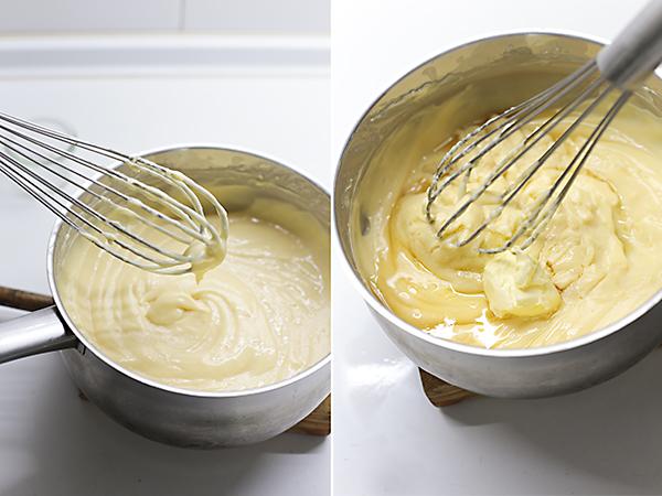 hacemos la crema pastelera