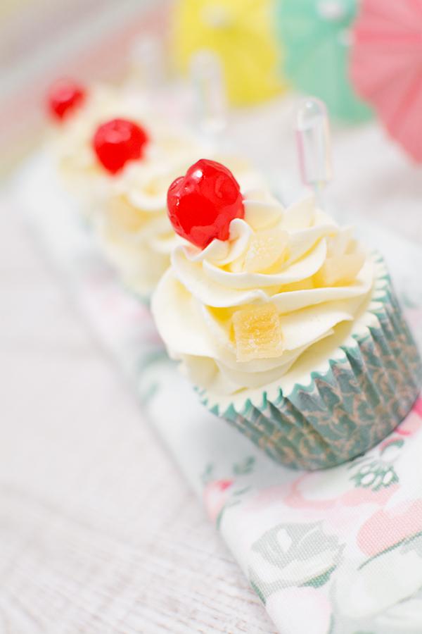 Cupcakes-de-pina-colada
