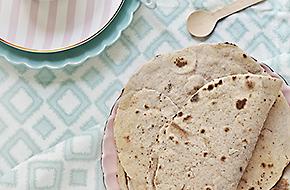 Pan chapati y pan pulka: panes planos de India
