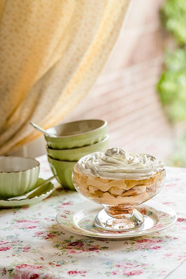 trifle de platano