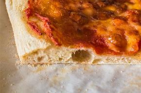 Receta de pizza con masa madre