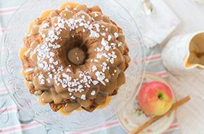 Vídeo-receta: Bundt Cake de manzana y caramelo