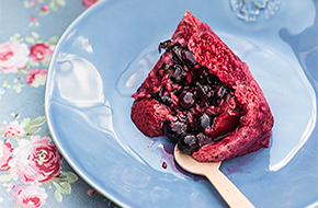 Pudding de frutas de verano, summer pudding