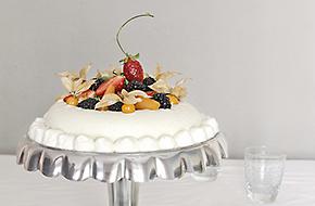 Receta de tarta helada de chocolate blanco