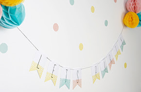 Imprimible Confetti Party: un regalo de Nina Designs