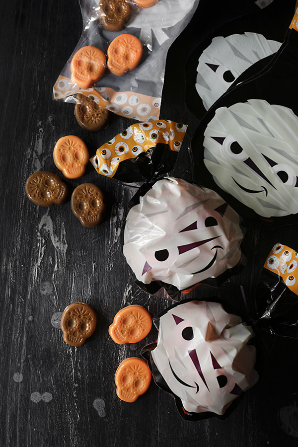 caramelos y bombones calavera