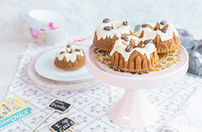 Vídeo-receta: mini bundt cakes de café