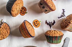 Muffins de calabaza para Halloween