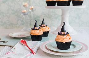 Vídeo-receta: cupcakes sombrero de bruja para Halloween