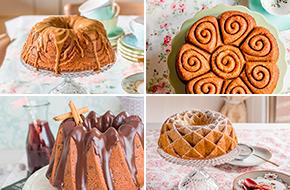 Las mejores recetas de bundt cakes