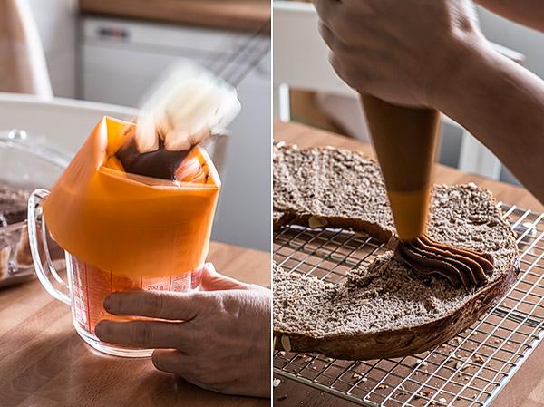roscon chocolate relleno