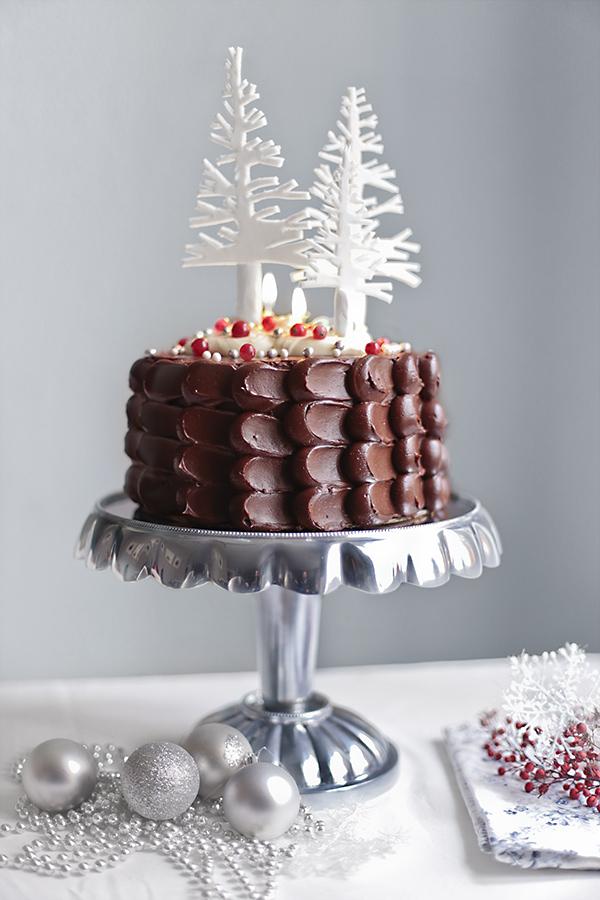 Tarta De Chocolate Para Navidad Blog De Recetas De Repostería María Lunarillos
