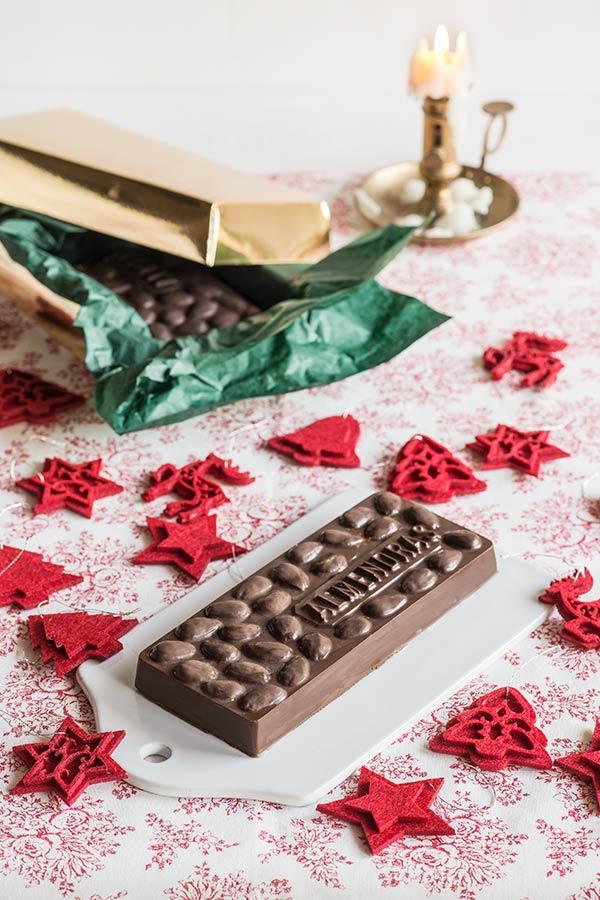 turron chocolate almendras