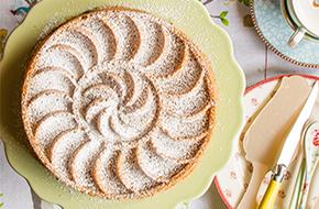 Bundt cake de manzana y almendra