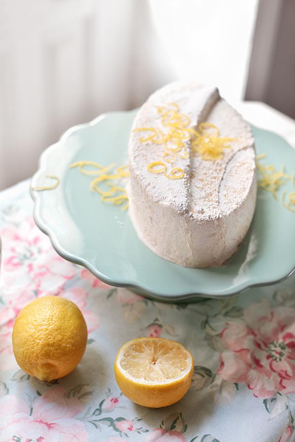 Semifrío de limón
