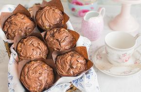 Vídeo-receta: Muffins de plátano y Nutella®