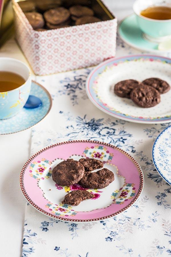 galletas shortbread chocolate