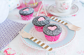 Vídeo-receta: Cupcakes para San Valentín