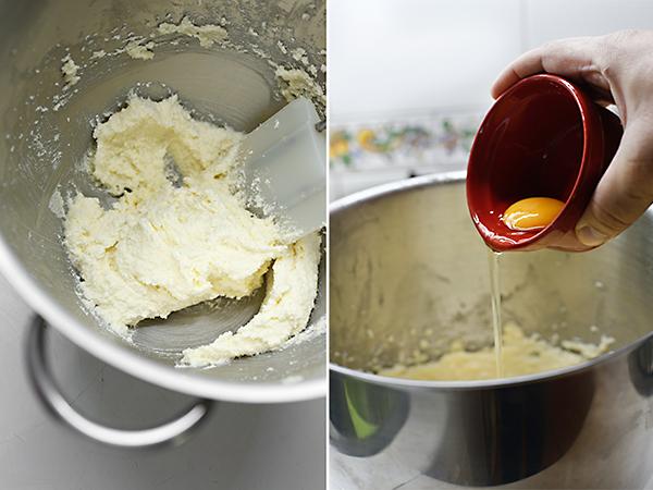 batimos la mantequilla y el azúcar